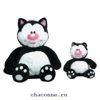 Кот. Котя черный сидячий 71 см